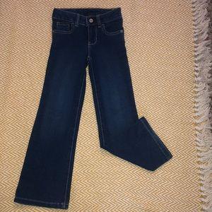 Girls dark bootcut jeans